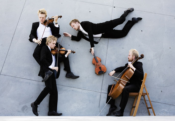 The Danish String Quartet | photo © Nikolaj Lund