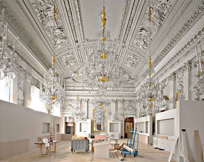 Palazzo Pitti, Sala Bianca I Firenze, 2008 | photo © Massimo Listri