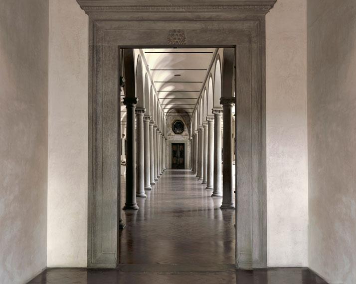 Biblioteca di Michelozzo a S.Marco, Firenze, 2009 | photo © Massimo Listri