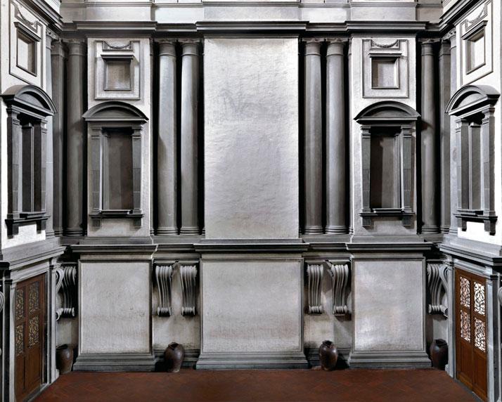 Biblioteca Laurenziana II, il Ricetto michelangiolesco, Firenze, 2009 | photo © Massimo Listri