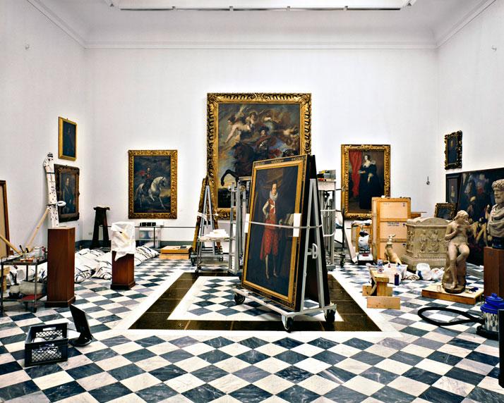 Galleria degli Uffizi, La sala della Controriforma, Firenze, 2008 | photo © Massimo Listri