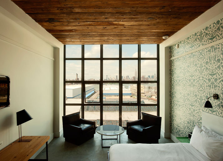 The Wythe Hotel in Brooklyn, NY Wythe Hotel williamsburg brooklyn yatzer 1