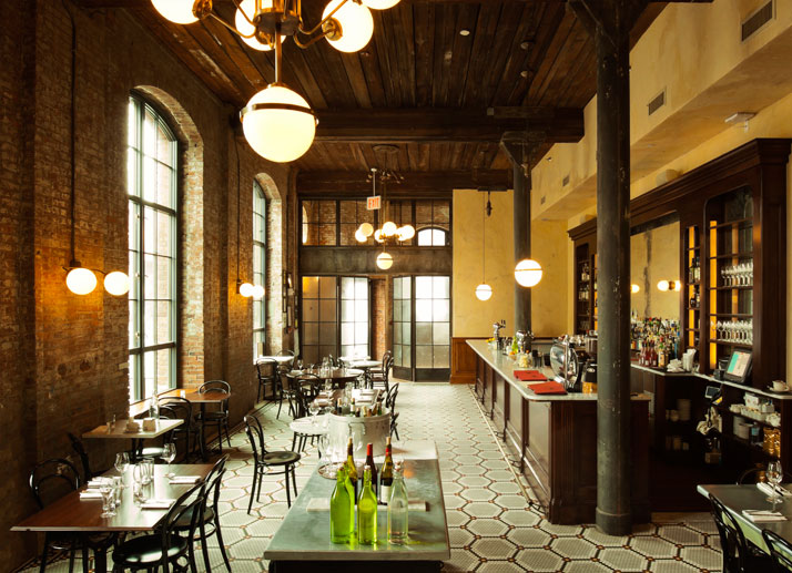 Reynards Restaurant, photo © The Wythe Hotel