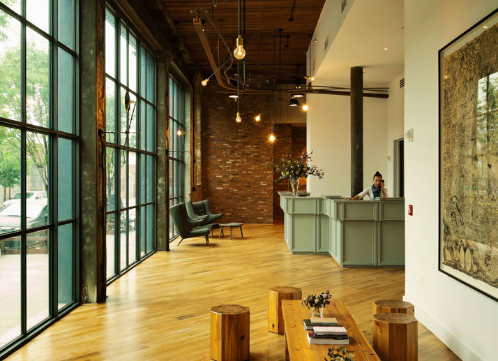 LOBBY, photo © The Wythe Hotel