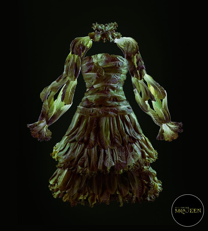 Lettuce by Alexander McQueen, photo © Fulvio Bonavia