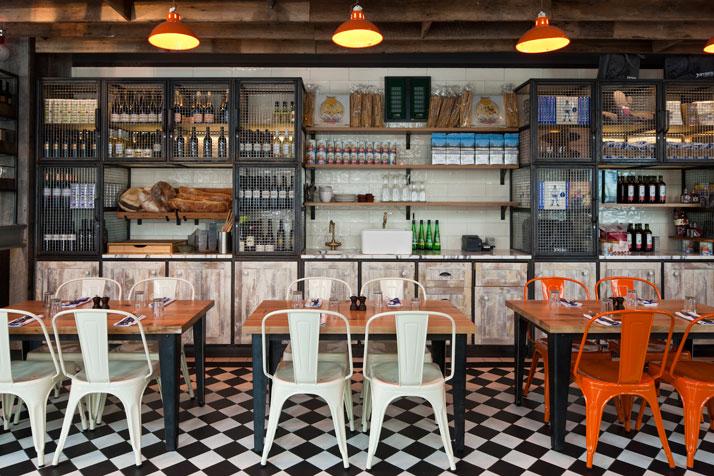 Jamie s italian in westfield stratford city yatzer - Deco interieur style industriel ...