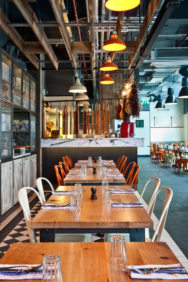 Jamie s italian in westfield stratford city yatzer - Cuisine designer italien ...