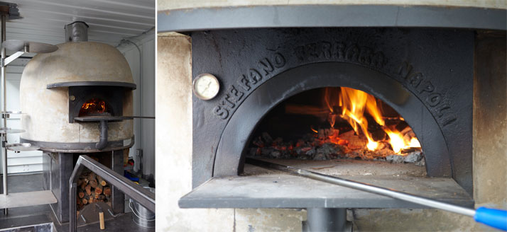 Stefano Ferrara oven in action - Del PopoloPhoto © Eric Zepeda