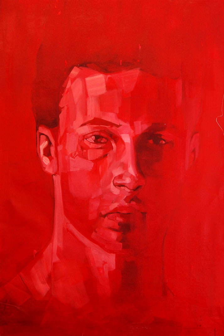 Andrew Salgado // Deeper, 2012 Oil on canvas // 110x70cm