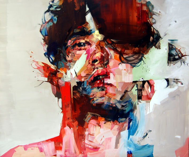 Andrew Salgado // The Bewildered Pursuit, 2012 Oil on canvas // 140x190cm
