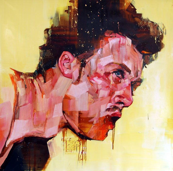 © Andrew Salgado // In Avoidance of Failure , 2012 Oil on canvas // 130x135cm