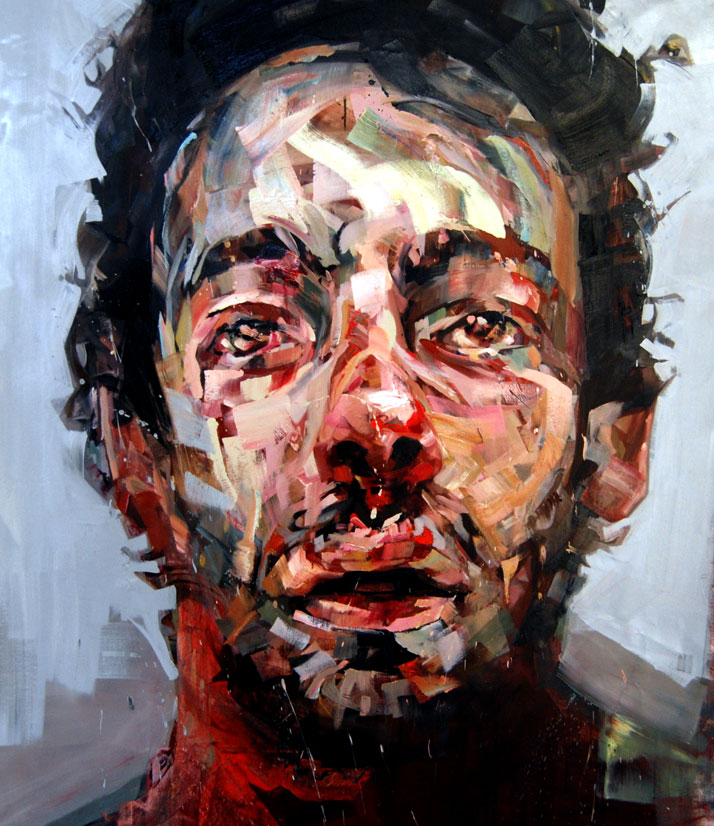 © Andrew Salgado // If One Man's Joy is Another Man's Sadness, 2012 Oil on canvas // 140x140cm