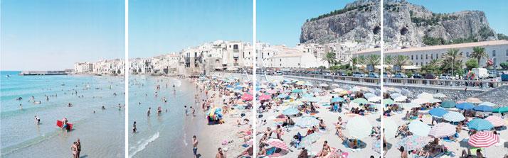 Cefalù Polyptych, 2008, Cefalù, Sicily, Italyphoto © Massimo Vitali