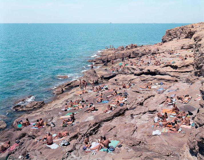 Calafuria, 2003, Livorno, Italyphoto © Massimo Vitali