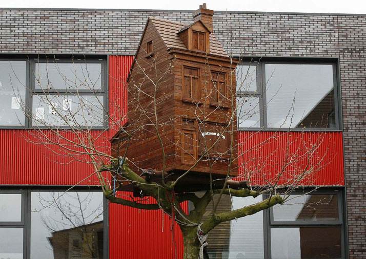 2 Treehouses, The Haque 2009, photo © Frank Hanswijk
