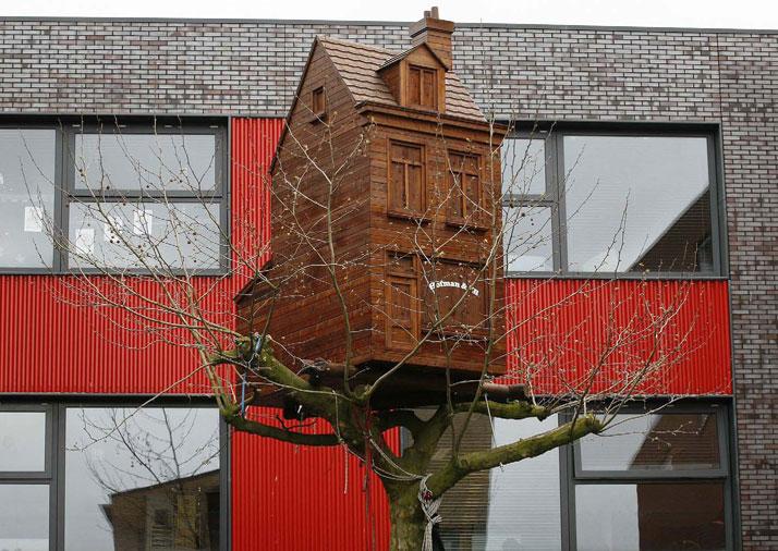 2 Treehouses, The Haque 2009, photo© Frank Hanswijk