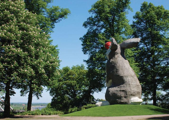 Lookout Rabbit, Nijmegen (NL) 2011,  photo© Monique Zoon