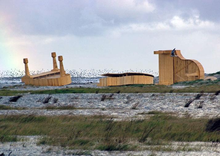 Signpost 5, The Island Schiermonnikoog 2006, photo© Ilja Zonneveld