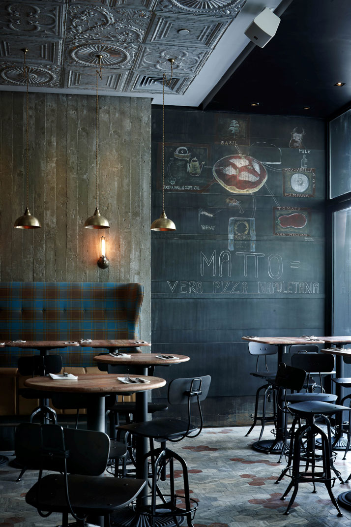 Matto bar pizzeria in shanghai yatzer - Vintage industrial interior design ...
