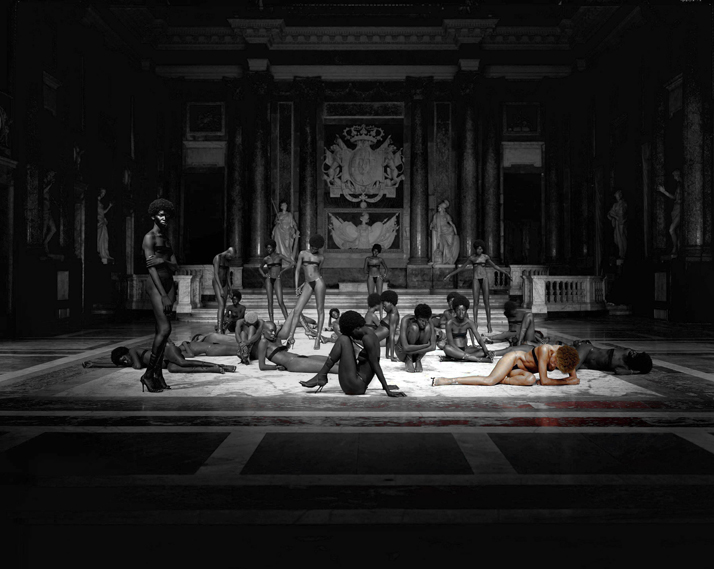 photo © Vanessa Beecroft, VB 48, Palazzo Ducale, Genoa, Italy, 2001
