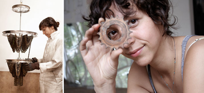 Carolina Fontoura Alzaga // left: photo © Patricia Alpizar, right: photo © Fabiola Torres.