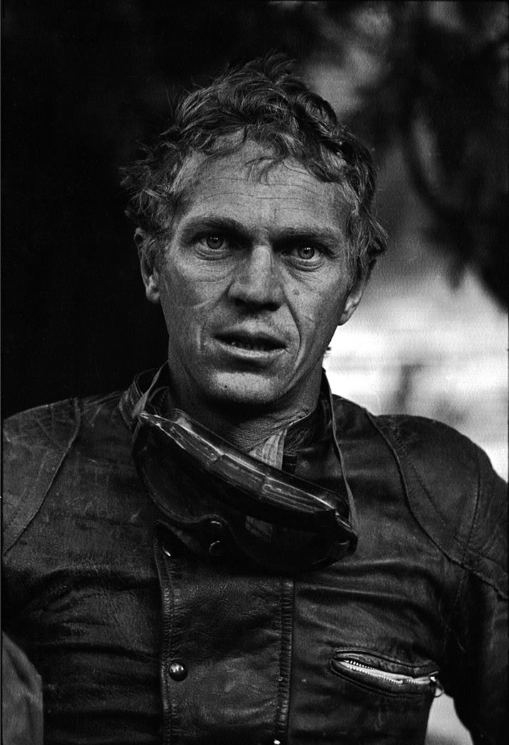 Steve McQueen: KING OF COOLSteve McQueen after motorcycle race, Mojave Desert, CA, 1963photo © John Dominis / Time Inc. All Rights Reserved.