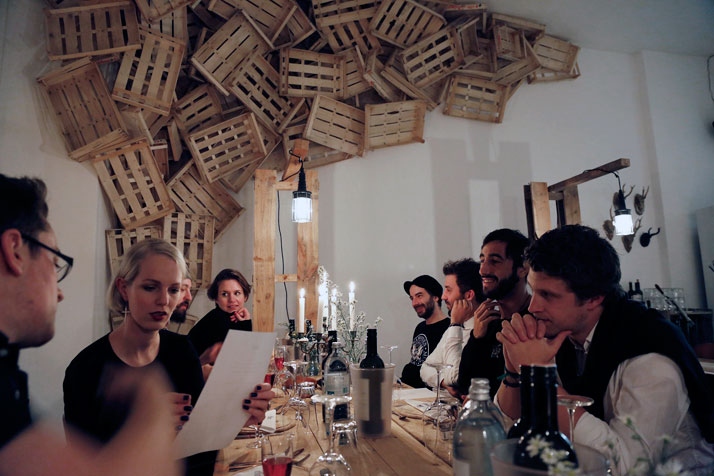 The Parlour Dinners, photo © Matthias Piket