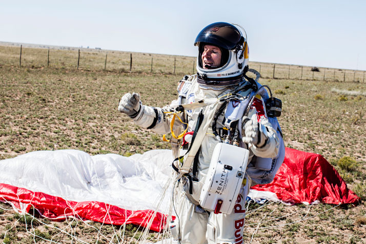 photo © Red Bull STRATOS