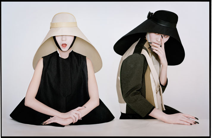 Xiao Wen & Lui Wen as samurai nunsNew York, 2011photo © Tim Walker