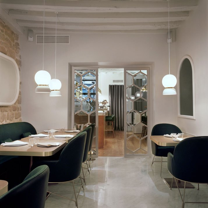 39 le sergent recruteur 39 restaurant by jaime hayon in saint for Miroir paris france