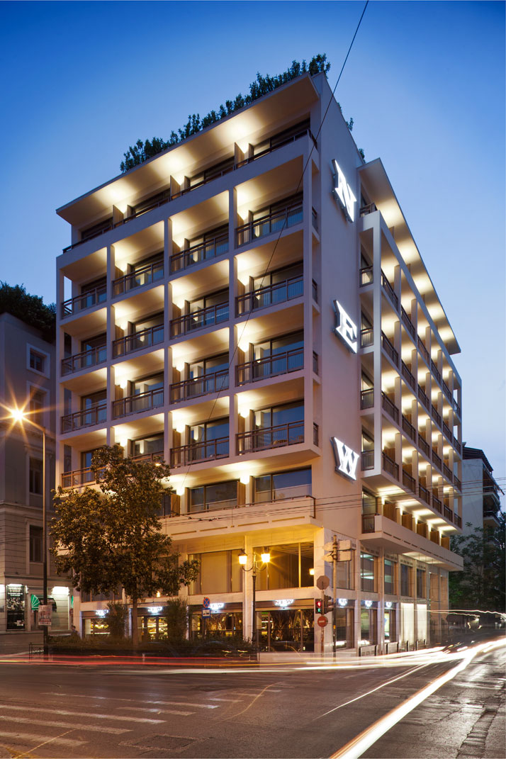 The new hotel by the campana brothers in athens greece for Designhotel nrw