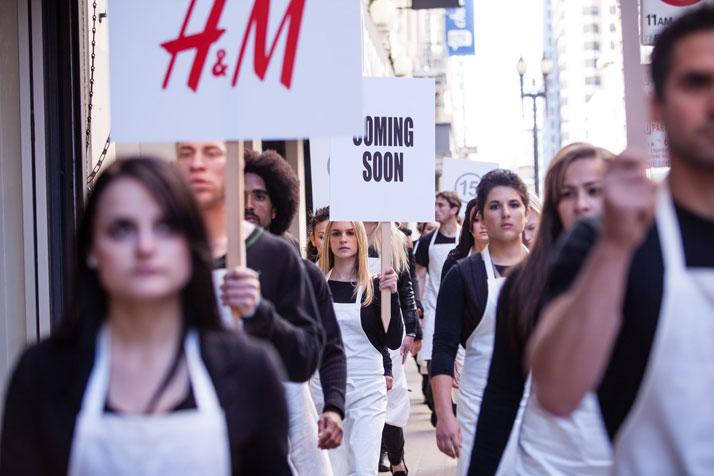 SAN FRANCISCO // Silent Manifesto: Maison Martin Margiela with H&Mphoto © H&M