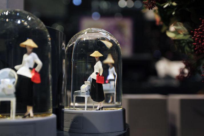 Snowballs, Dior for Printemps, photo © Costas Voyatzis for Yatzer.com