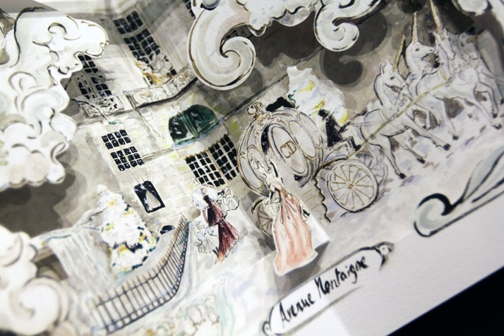 Pop Up book, Dior for Printemps, photo © Costas Voyatzis for Yatzer.com