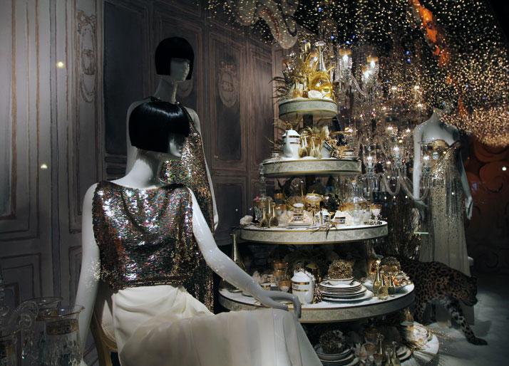 Christmas windows by Dior for Printemps, photo © Costas Voyatzis for Yatzer.com