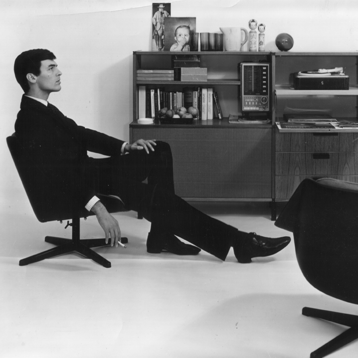 Teak furniture by Pastoe, 1962photo © Gerrit Schilp
