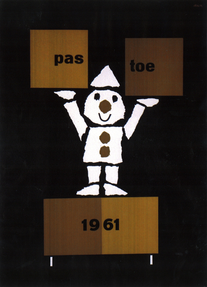 poster by Dick Bruna, 1961photo © PASTOE