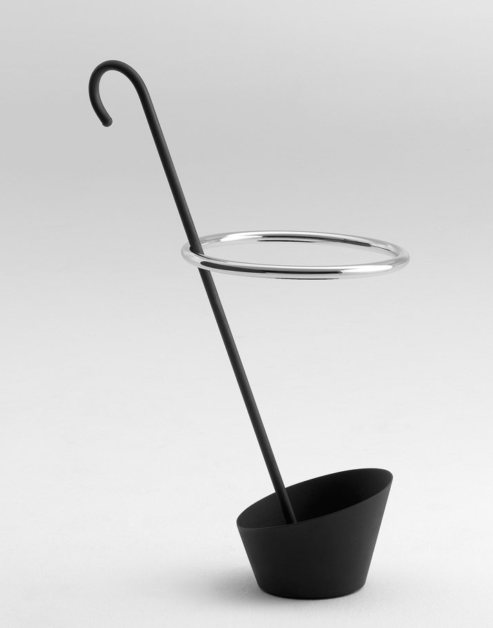 Umbrella stand, design Shiro Kuramata, 1986photo © PASTOE