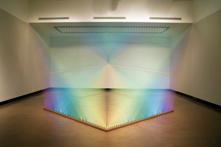 Gabriel Dawe, Plexus No.12photo © Carlos Aleman