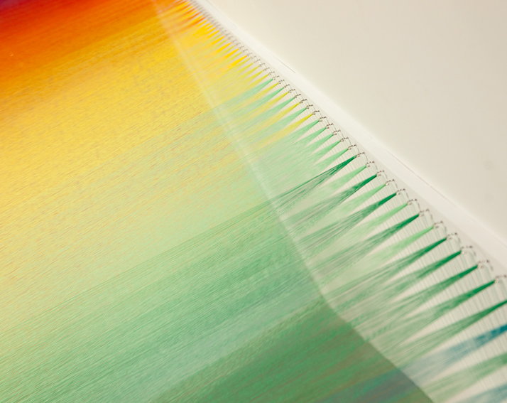 Gabriel Dawe, Plexus No.10 (detail)photo © Electric Egg