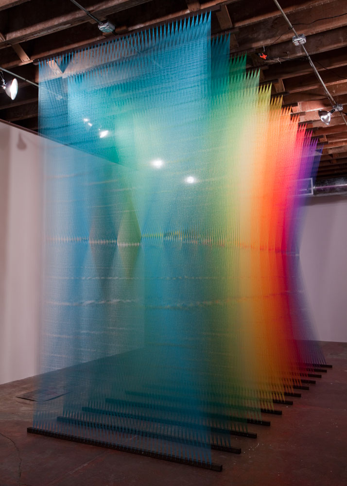 Gabriel Dawe, Plexus No.3photo © Kevin Todora