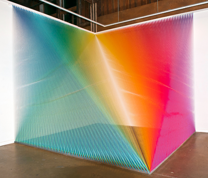 Gabriel Dawe, Plexus No.5photo © Mike Metcalf
