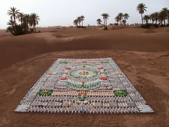 Bottle Carpet, photo © We Make Carpets