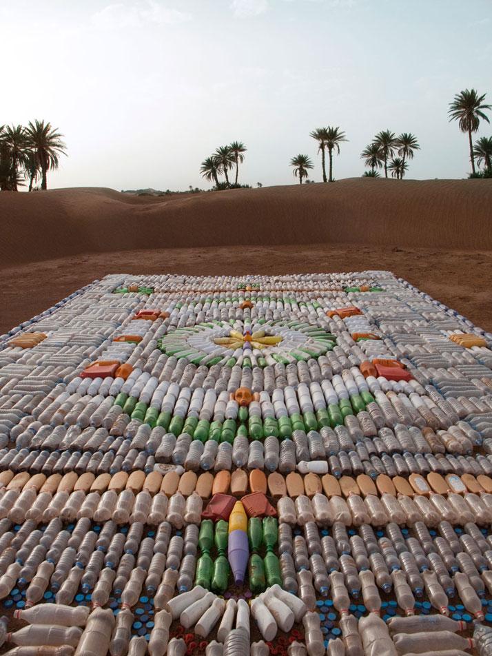 Bottle Carpet, photo © We Make Carpets