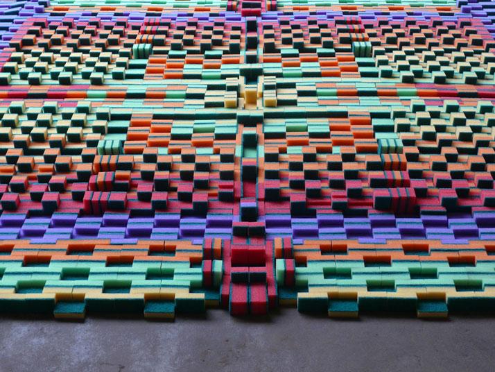 Sponge Carpet , photo© Ruud Balk