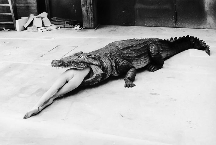 Helmut Newton – A Scene from Pina Bausch's Ballet, 1983photo © Helmut Newton Estate