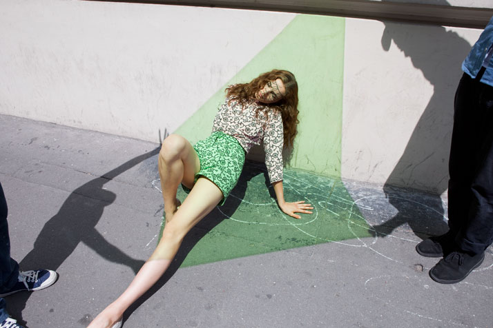 For Double magazine, photo © Viviane Sassen