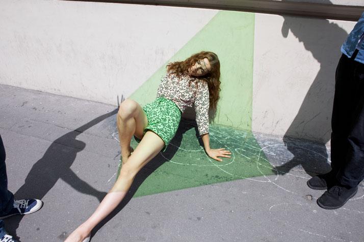 For Double magazine, photo © Viviane Sassen