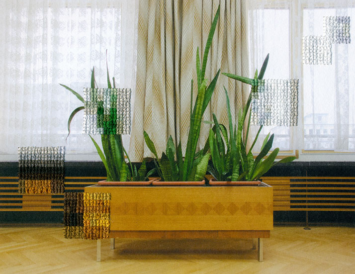 Berlin: Plants, Former Offices of the State Secret Police, 2012, photo © Diane Meyer