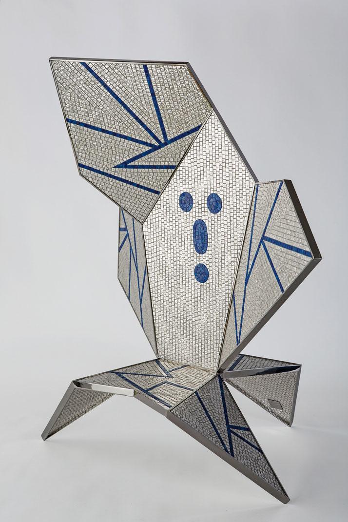 Zero. Bisazza, mosaic (making of)photo by Emanuele Zamponi, Courtesy of Vacheron Constantin